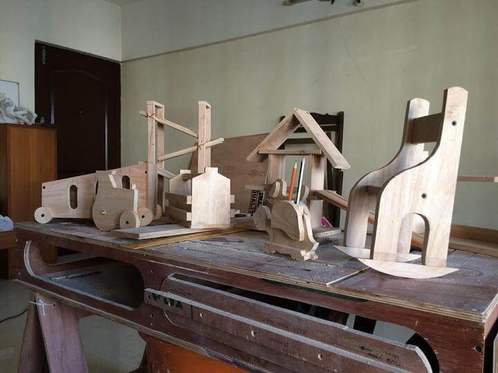 Детские товары из дерева
