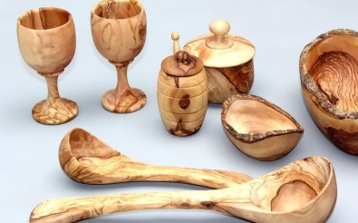 Деревянная кухонная утварь