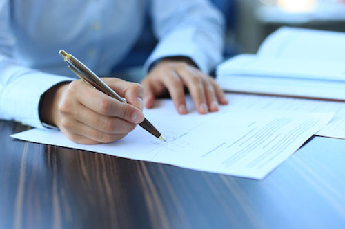 Письменное соглашение факторинга