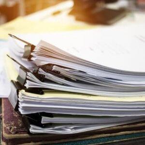 Пакет требуемых документов