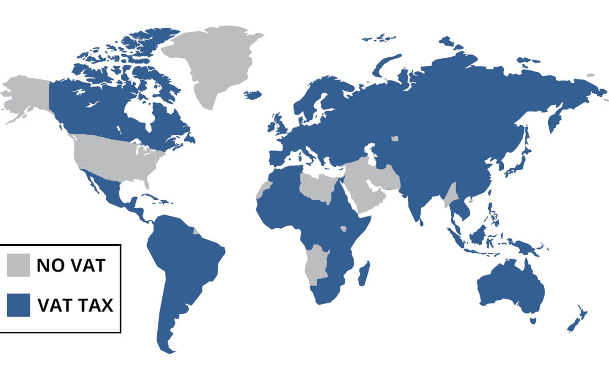 Страны с НДС и без него