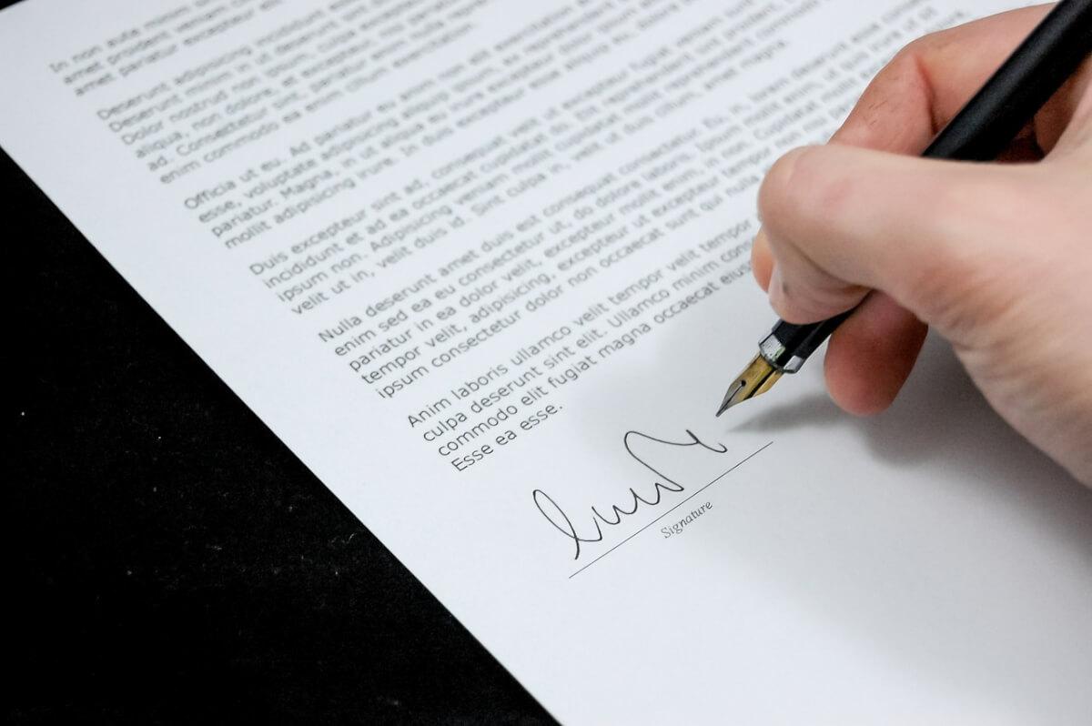 Подписание протокола разногласий