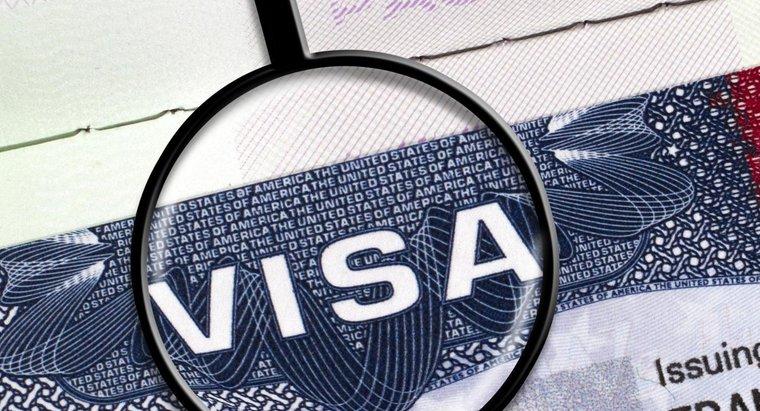 Получение виз в визовом центре