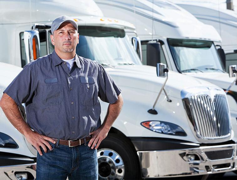 Водитель грузового авто