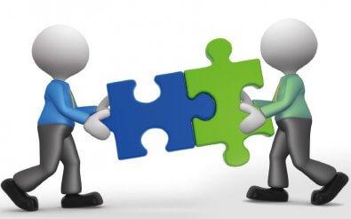 Бизнес сотрудничество между поставщиком и покупателем