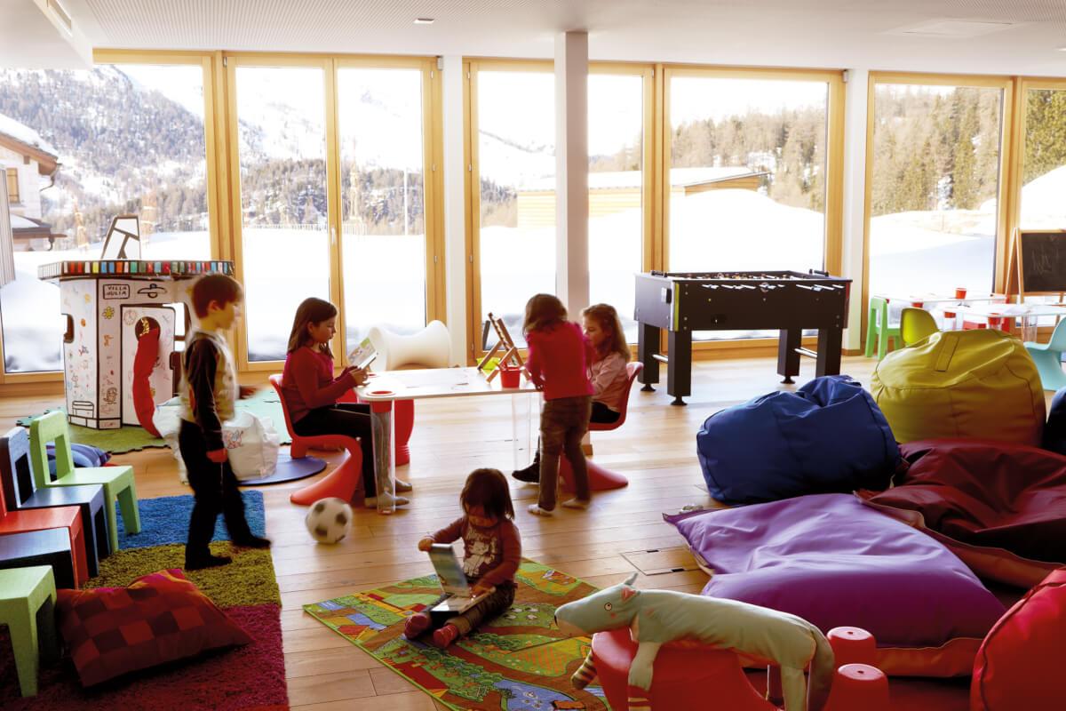 Отдельное помещение для комнаты развлечений