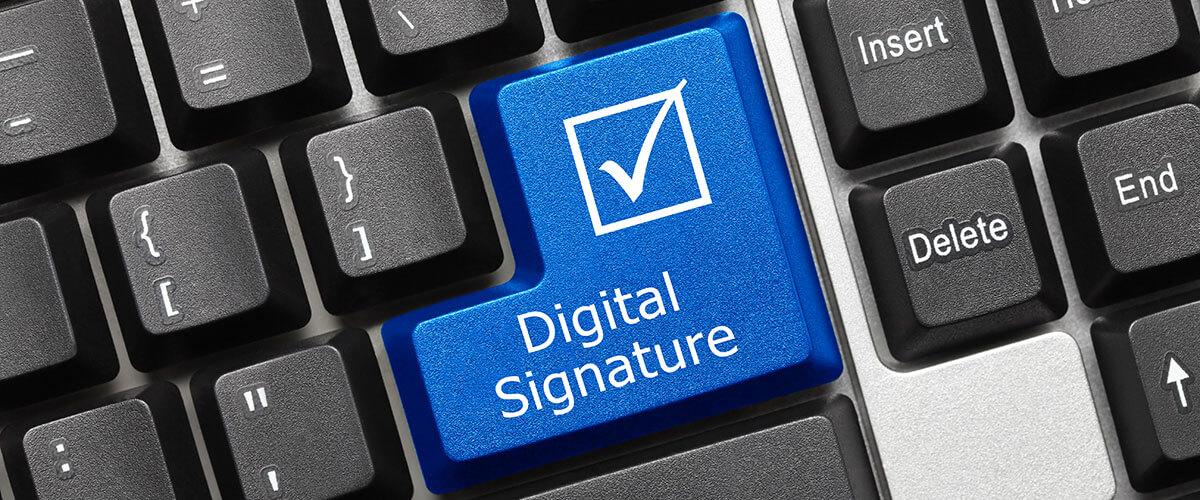 Необходимость в электронной подписи