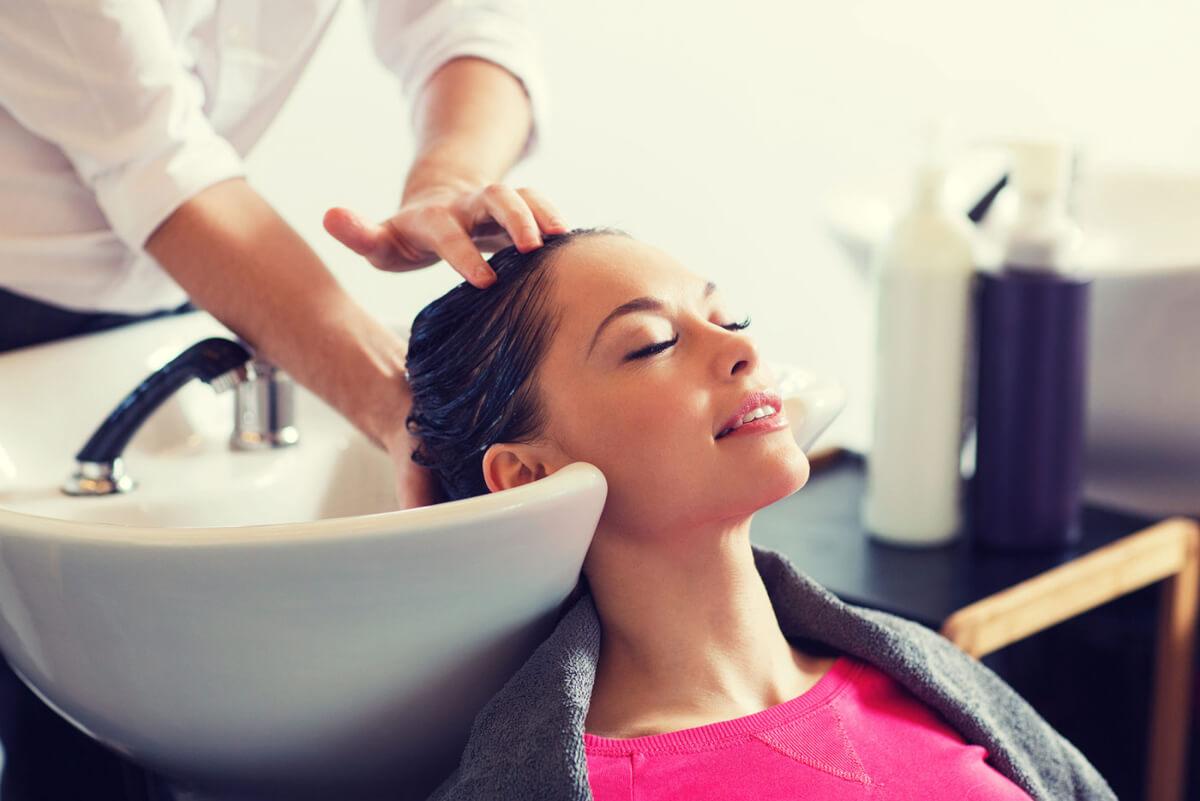 Открытие профессиональной парикмахерской