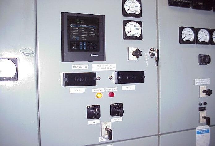 Данные о электрооборудовании