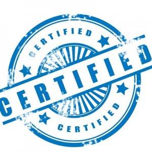 ПОлучение необходимых сертификатов