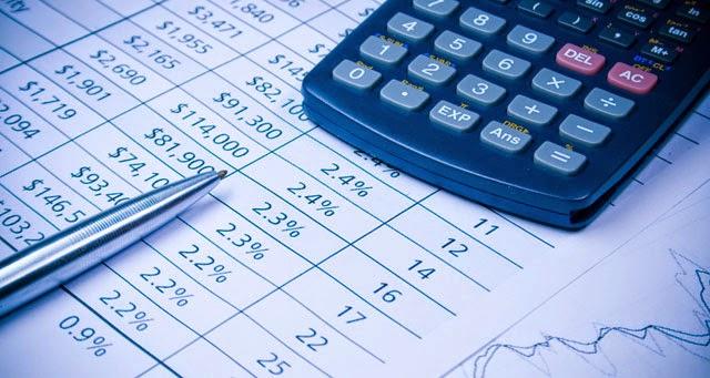 Показатели в процентах и долларах