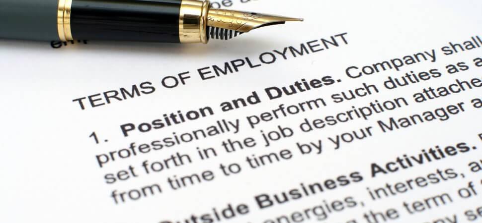 Разновидности трудовых договоров