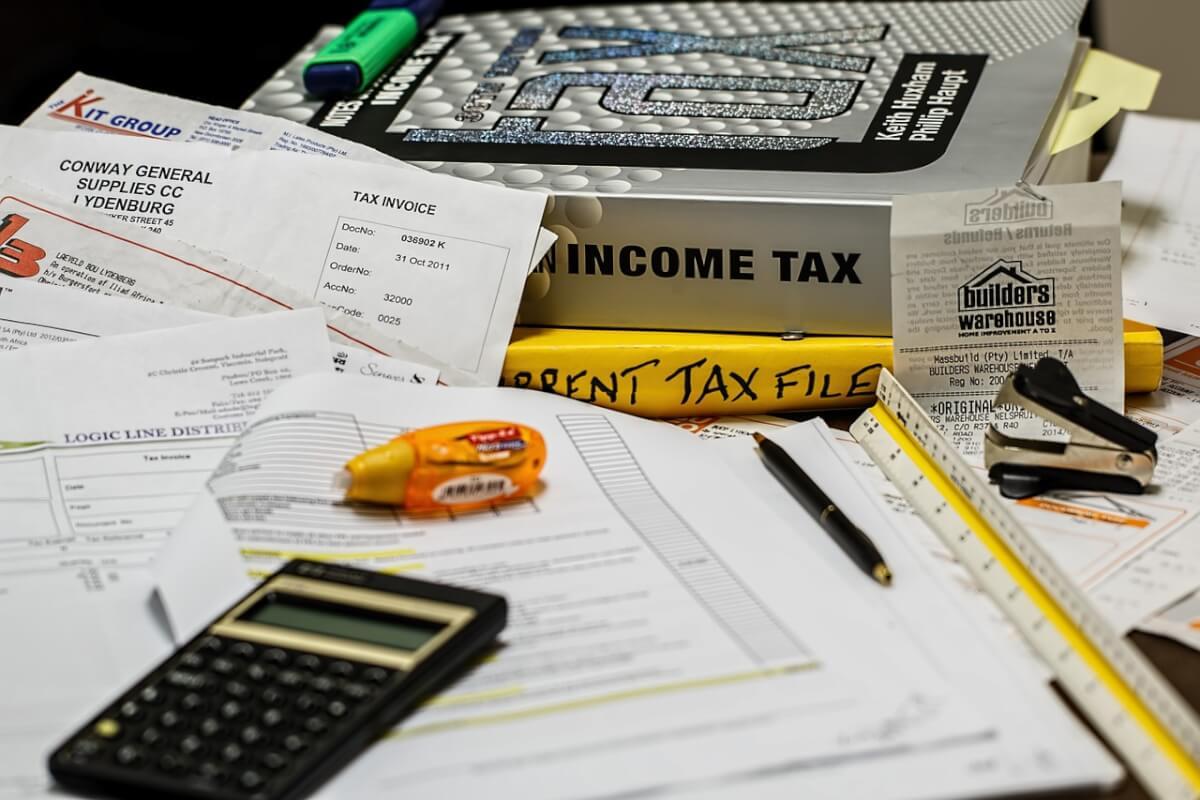 Положенные расчеты расходов и доходов