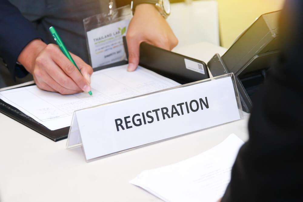 Правила регистрации документа