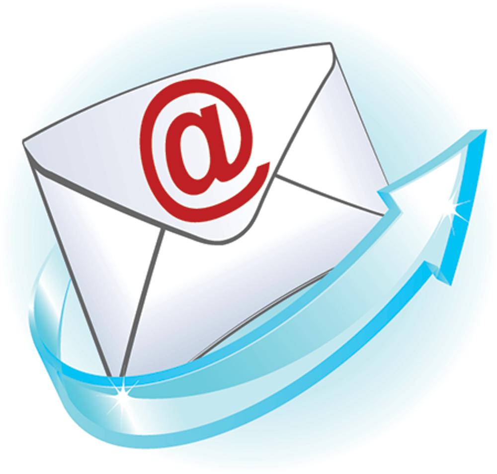 Отправка электронной почтой