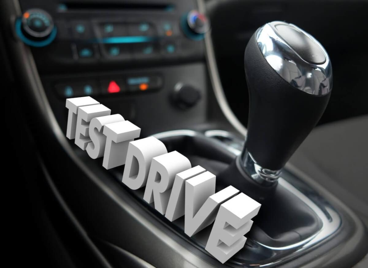 Тест-драйв в крупных автосалонах