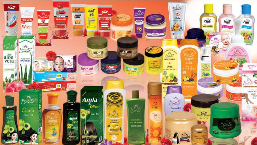 Средства по уходу за кожей и волосами