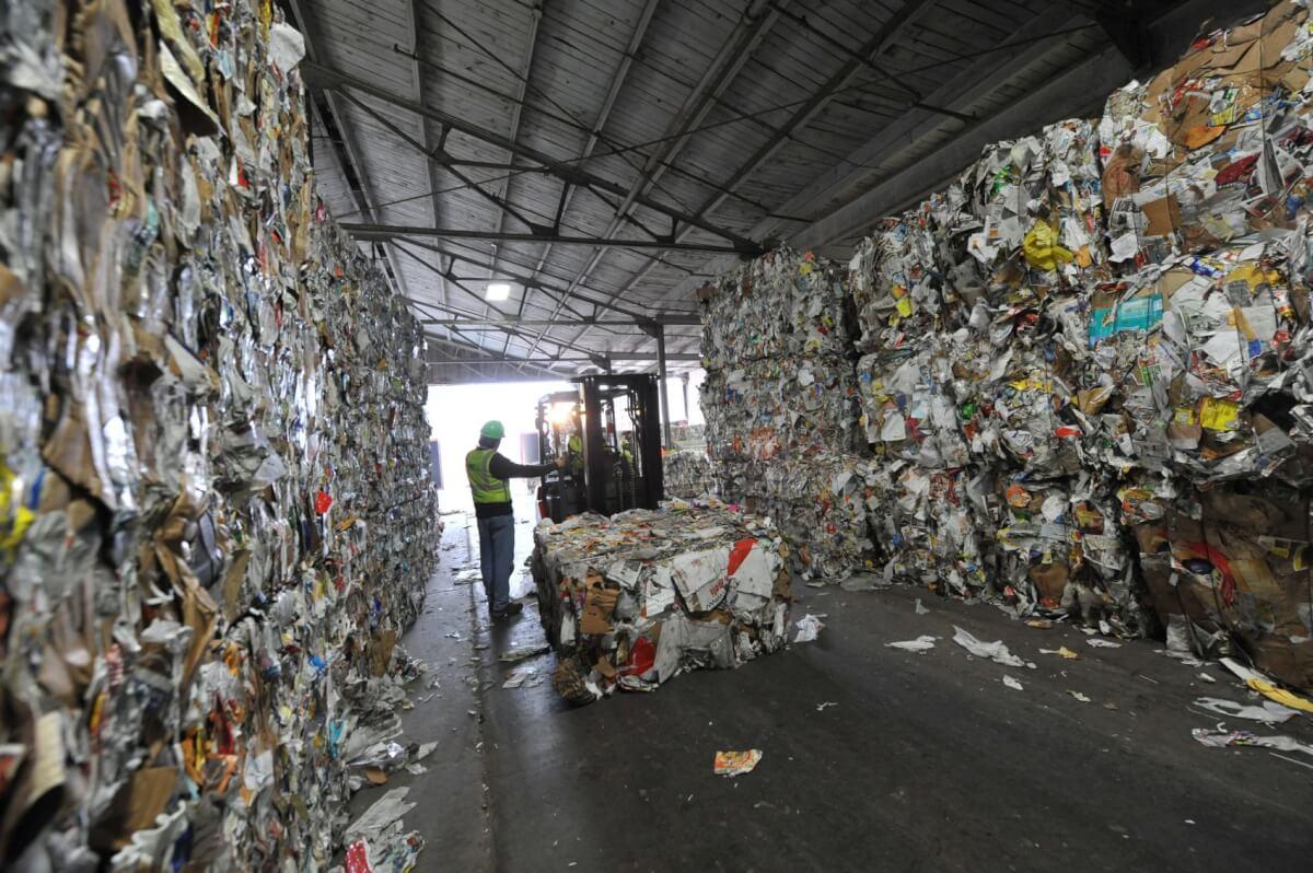 Массовая утилизация мусора