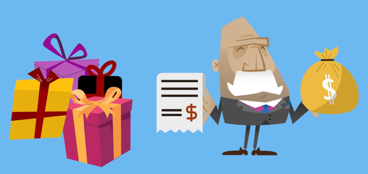 Налоги при дарении