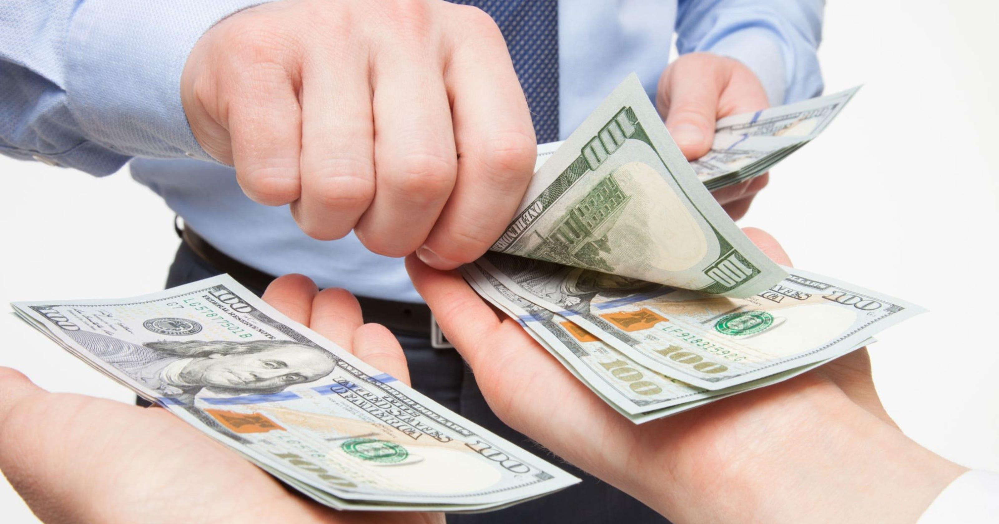 Выплата заработной платы