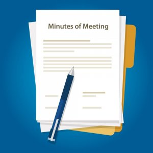 Составление протокола собрания