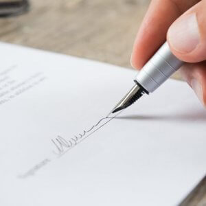 Подпись соискателя