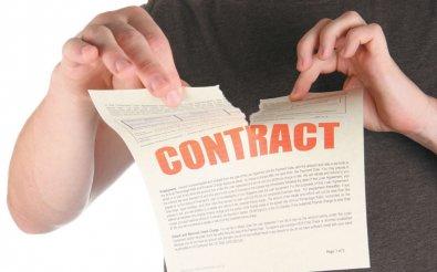 Классификация расторжения договора