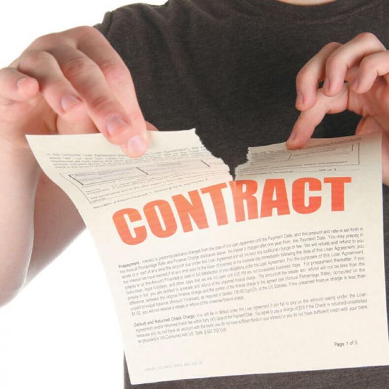 Расторжение договора поставки по инициативе покупателя