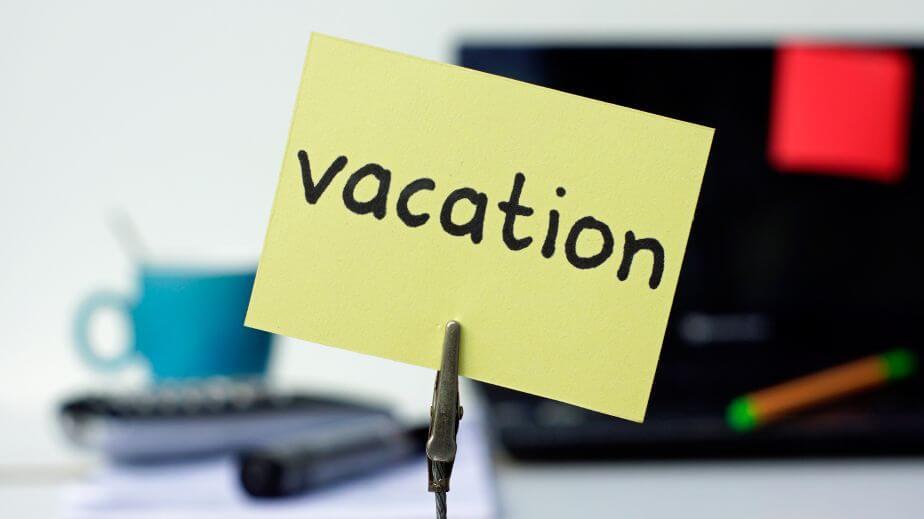Дни отпуска