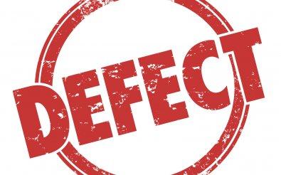Наличие дефективного товара