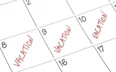 Составление графиков отпусков