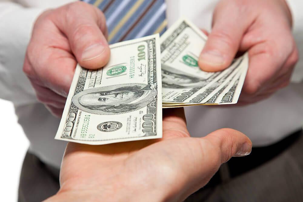 Выплата зарплаты частями
