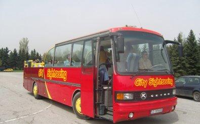 Перевозка пассажиров на автобусе