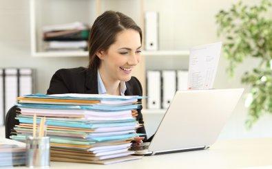 Составление документа в электронном виде