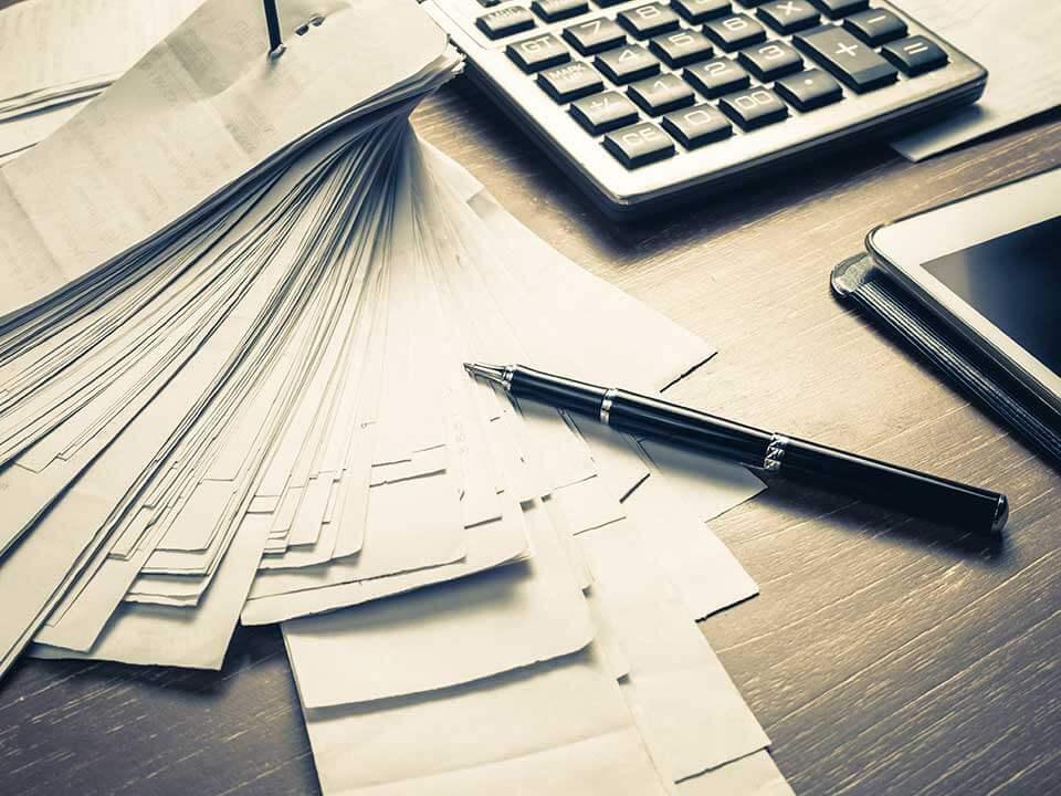 Документы на выплату