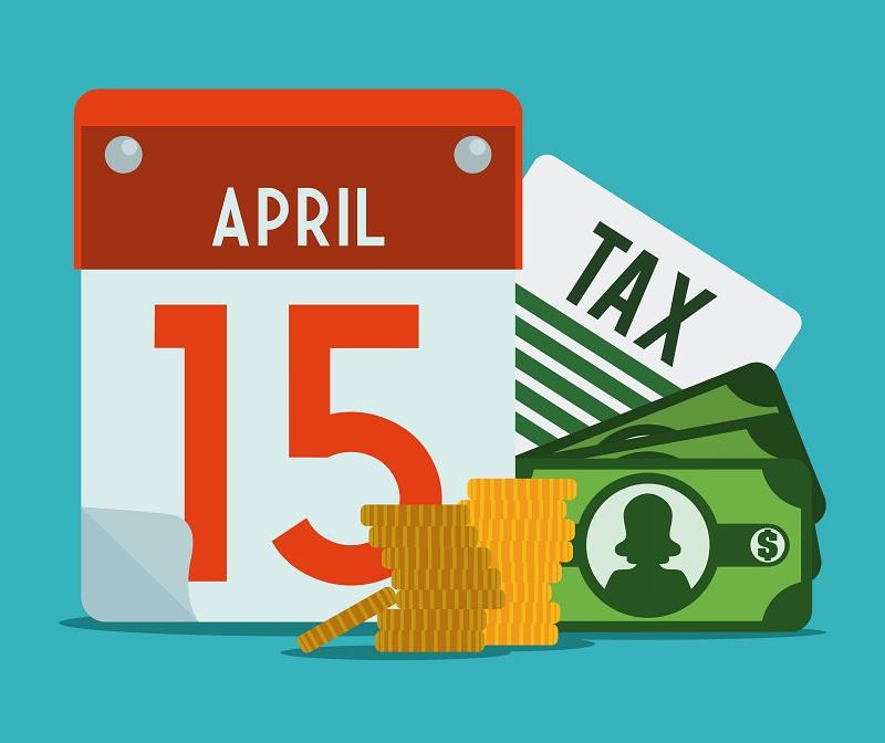 Различные сроки уплаты налогов