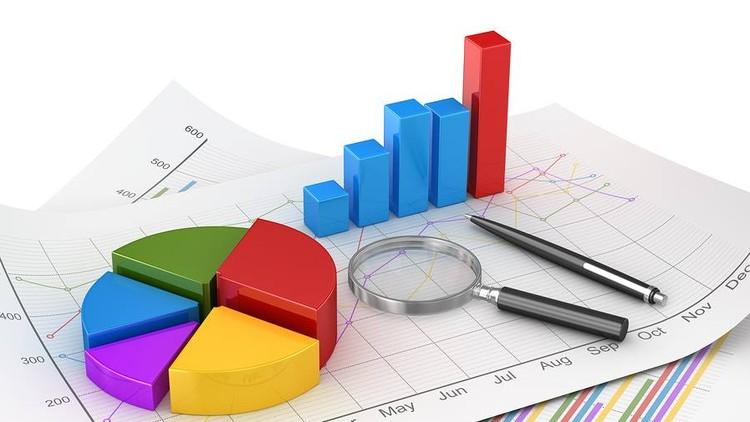 Финансовая модель на графиках