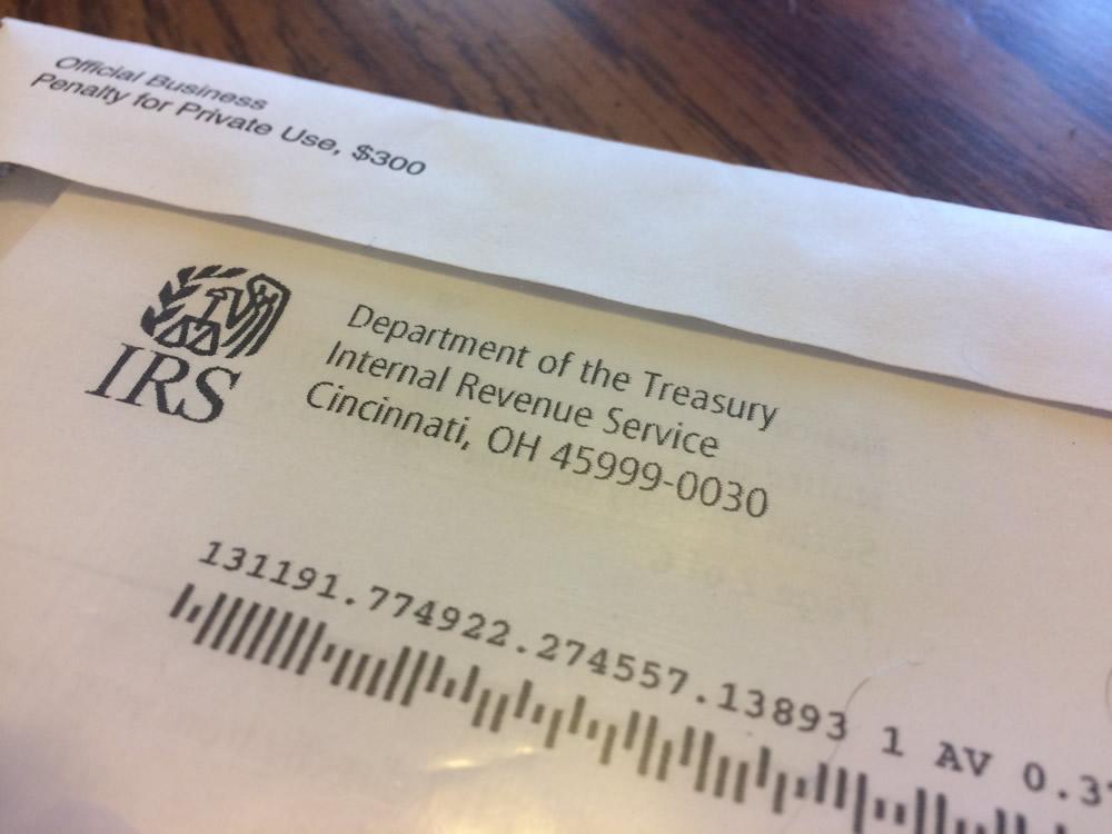 Уведомление Налоговой Инстанции