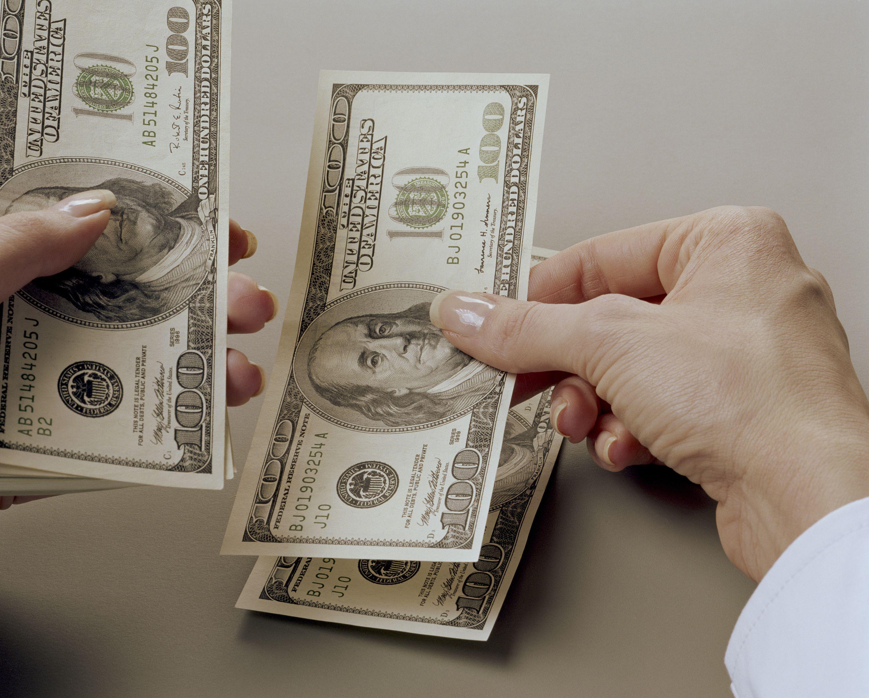 Выдача зарплаты наличными средствами