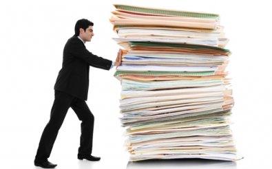 Передача бумаг в архив