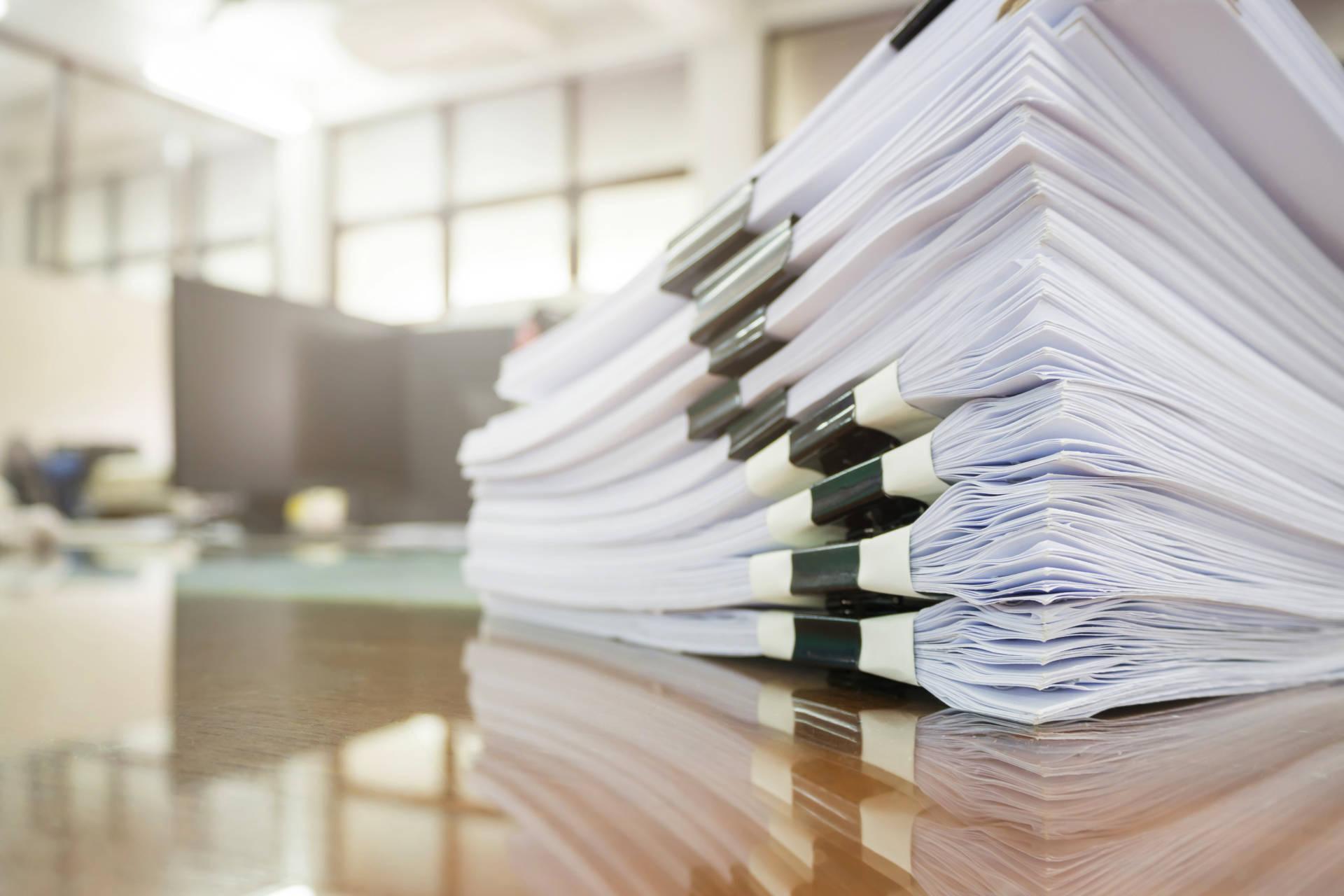 Отражение документов в реестре