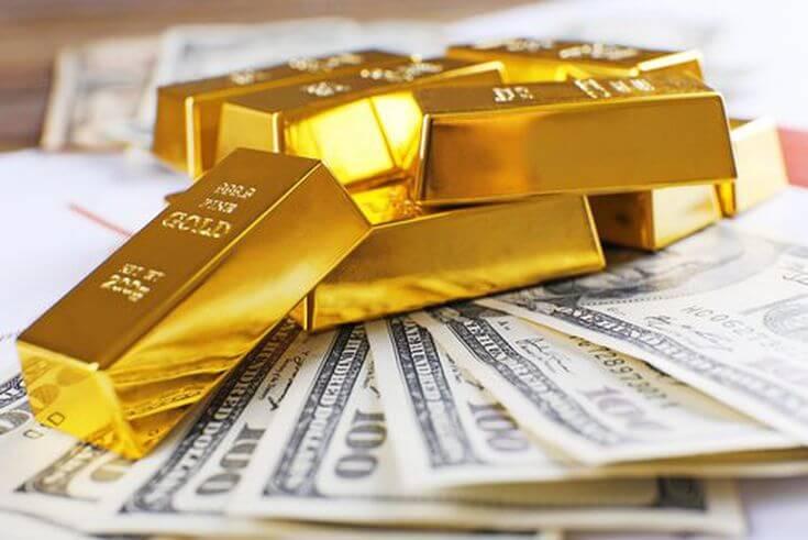 Цена на слиток золота