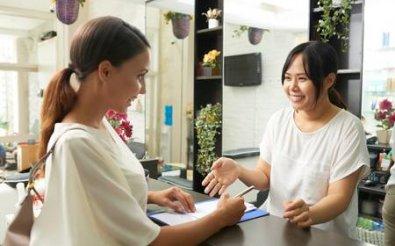 Умение общаться с посетителями