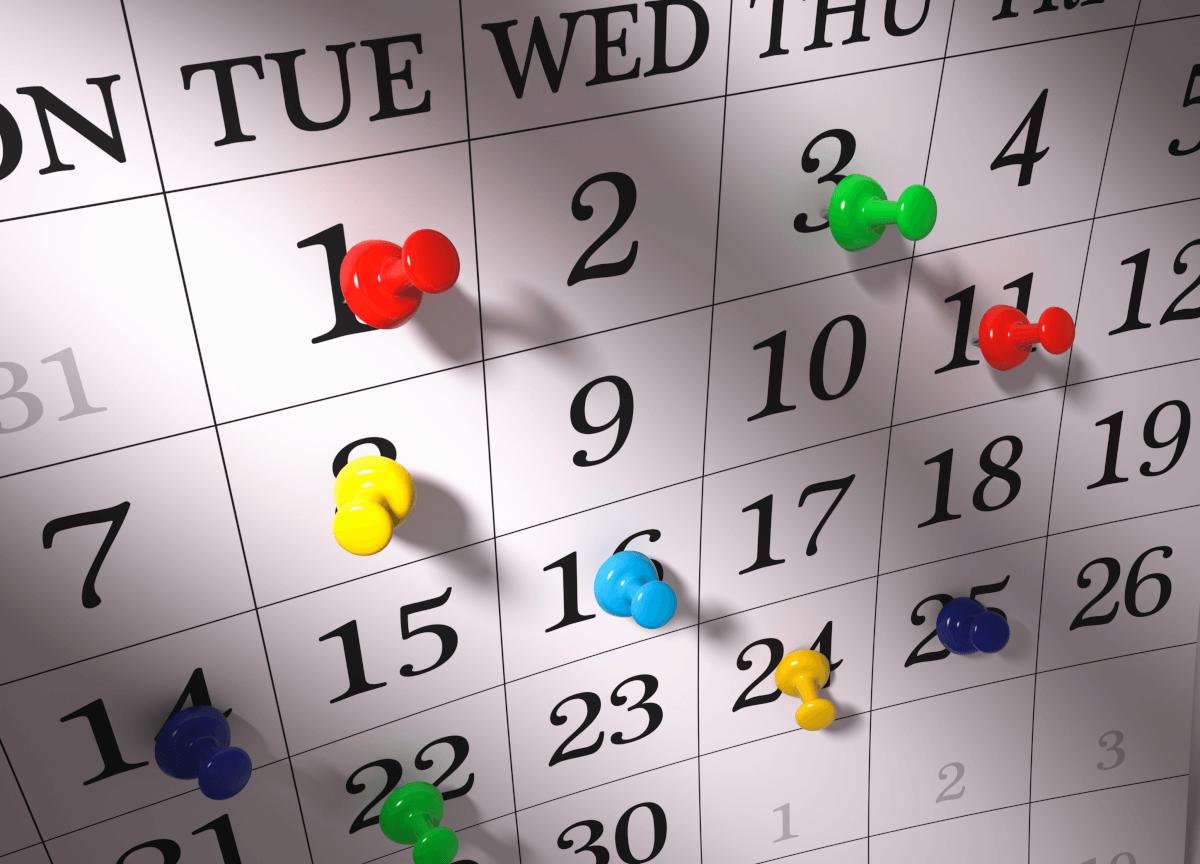 Календарь выплат