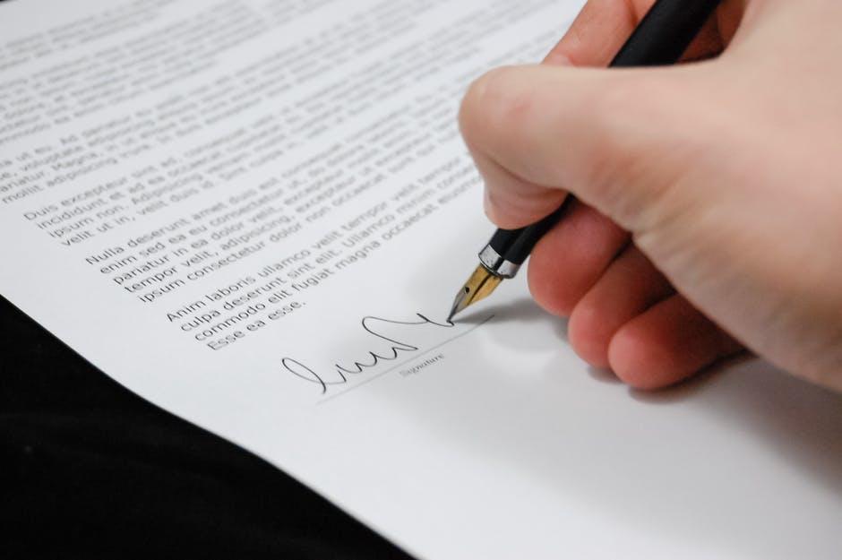 Подписание первичной документации