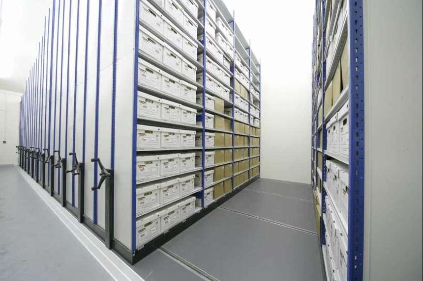 Специальное оборудование для архива