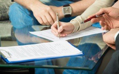 Передача права подписи