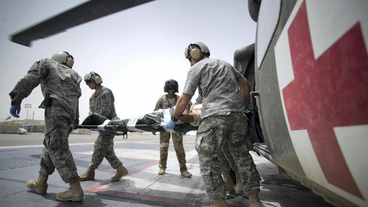 Военный на больничном