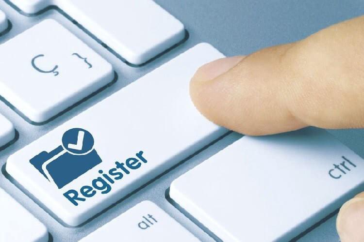 Порядок регистрирования