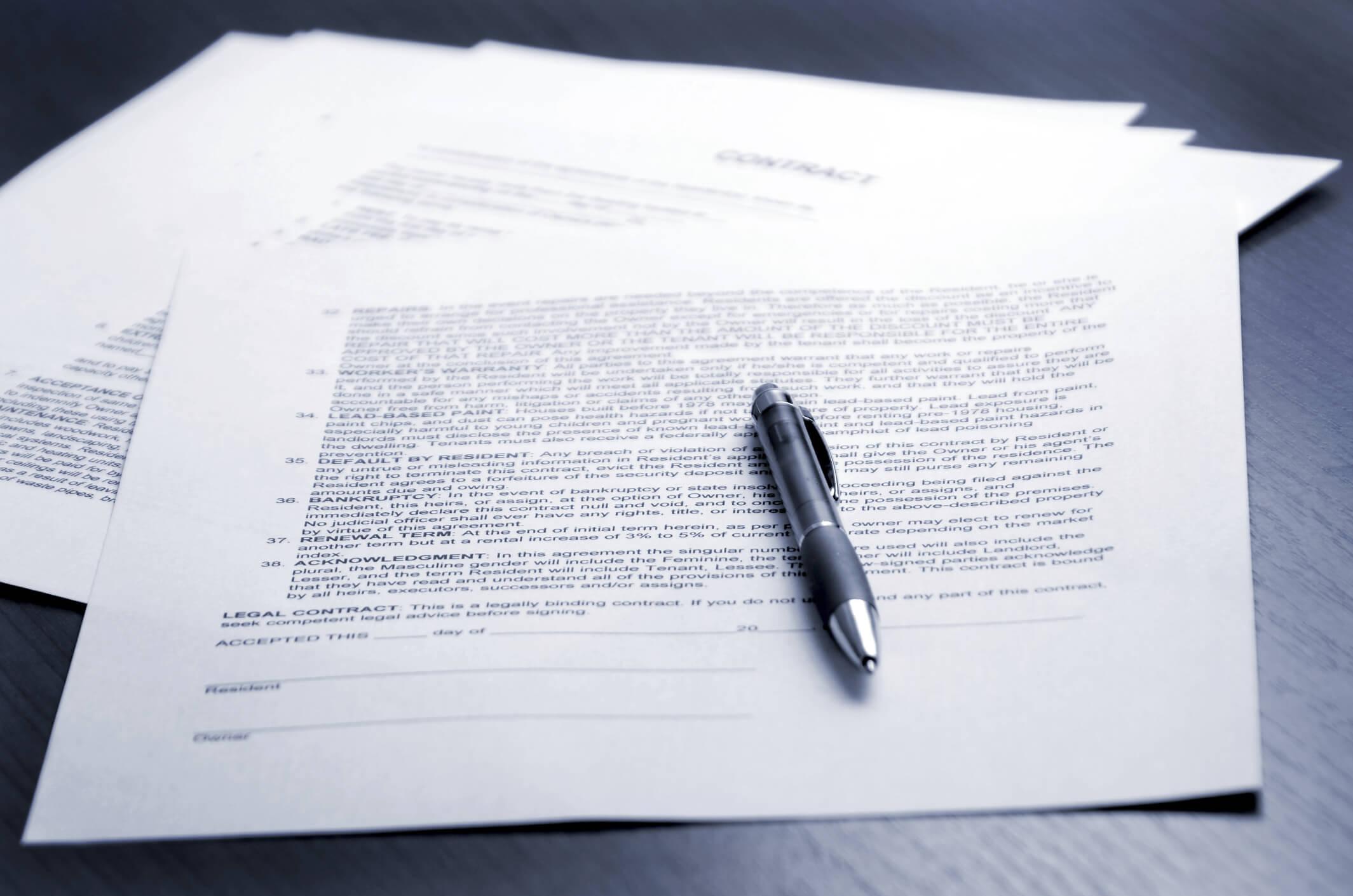 Документ в качестве договора